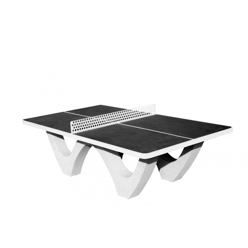 Tables ping pong cole lyc e coll ge club camping - Table ping pong exterieur beton ...