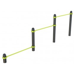 TRIPLE PUSH UP BAR FIXE