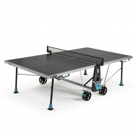 TABLE DE PING PONG CORNILLEAU 300 X CROSSOVER GRISE