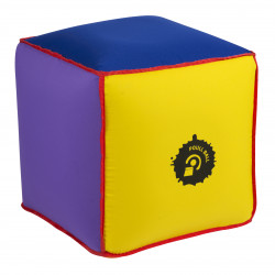 CUBE GONFLABLE POULL BALL