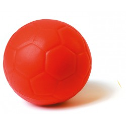 BALLON FOOTBALL MOUSSE ROUGE