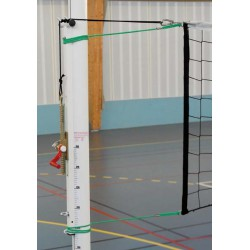 PAIRE DE POTEAUX VOLLEY-BALL COMPETITION ALUMINIUM