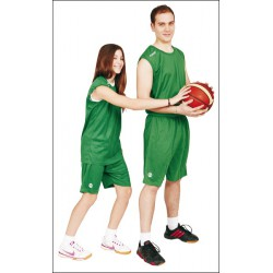 MAILLOT ET SHORT BASKET-BALL LAY UP VERT