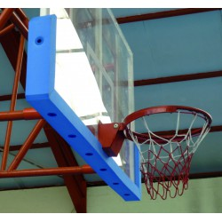 PROTECTION DE PANNEAU BASKET-BALL A VISSER