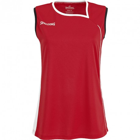 MAILLOT BASKET-BALL FEMME ATTACK TANK TOP ROUGE