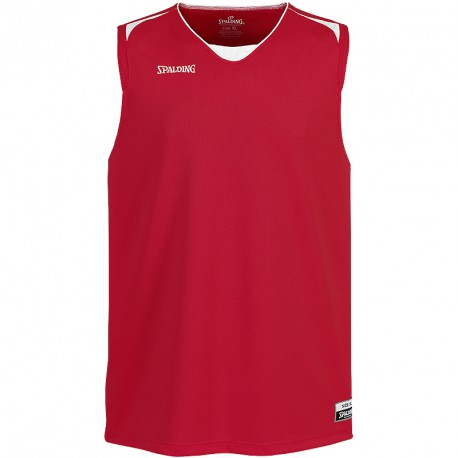 MAILLOT BASKET-BALL HOMME ATTACK TANK TOP ROUGE