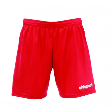 SHORT FOOTBALL UHLSPORT BASIC FEMME ROUGE