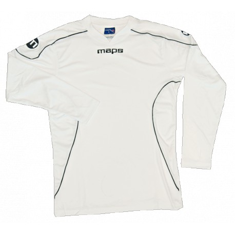 MAILLOT HOMME MULTISPORT FIRENZE MANCHES LONGUES BLANC