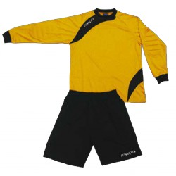 MAILLOT ET SHORT GARDIEN FOOTBALL JAUNE