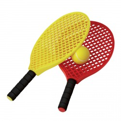 LOT DE 2 MINI-RAQUETTES TENNIS