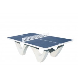 TABLE PING-PONG BETON TOP'MODUL BLEUE