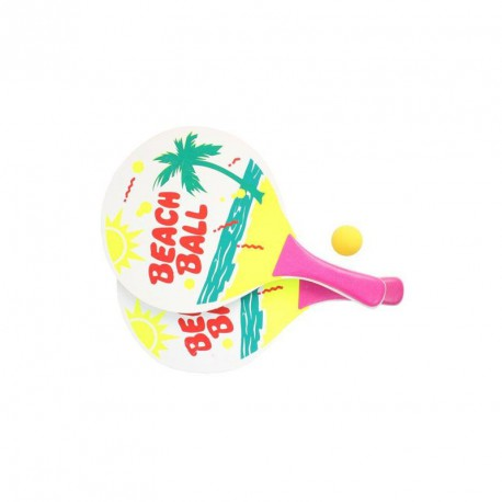LOT DE 2 RAQUETTES BEACH BALL