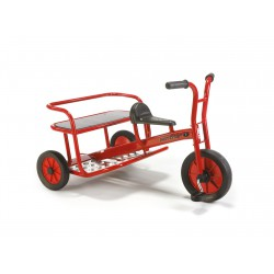 TRICYCLE VIKING TWIN TAXI 4 - 8 ANS WINTHER