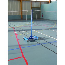 POTEAU CENTRAL BADMINTON AUTOSTABLE 45 KG
