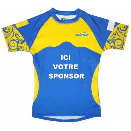 MAILLOT RUGBY SUBLIMÉ