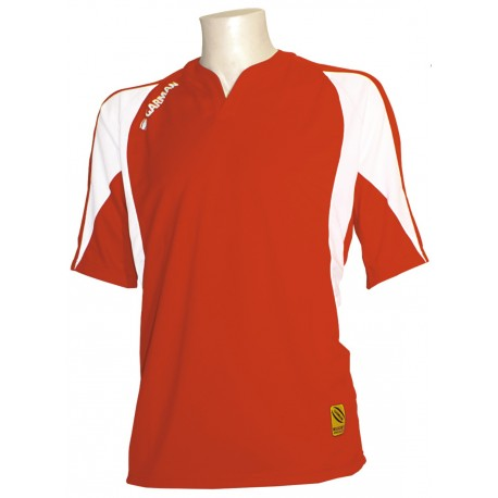 MAILLOT RUBGY CLUB TRY ROUGE / BLANC