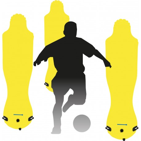 MANNEQUINS FOOTBALL PVC GONFLABLE