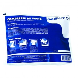 LOT DE 12 COMPRESSES DE FROID INSTANTANÉ