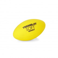 BALLON DE RUGBY INITIATION PVC