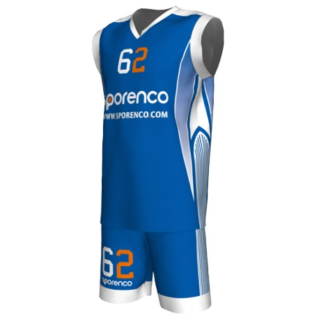 MAILLOT BASKET CLUB SUBLIMÉ HOMME DESIGN 1 FACE