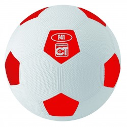 BALLON DE FOOT CAOUTCHOUC RECREATION T3