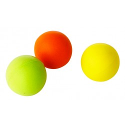 LOT DE 10 BALLES DE TENNIS DE TABLE EN MOUSSE
