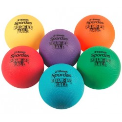 LOT DE 6 POLY-BALLONS SPORDAS