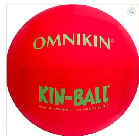 BALLON KIN-BALL® JUNIOR 84 CM ROUGE